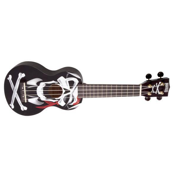 Mahalo Ukulele Soprano Art Series Pirate Black