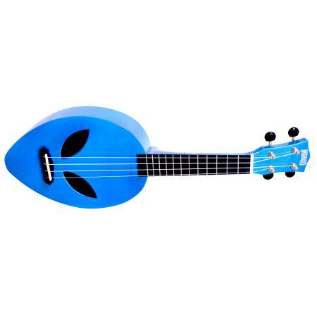 Mahalo Ukelele Creative Series Alien Metalic Blue