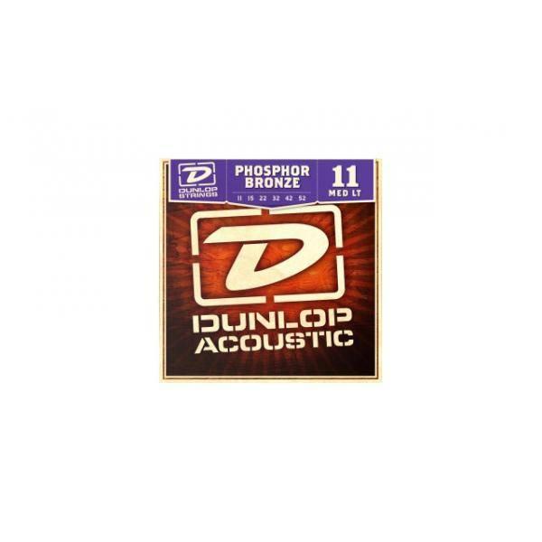 Juego Dunlop Acústica Fósforo Bronce 11-52