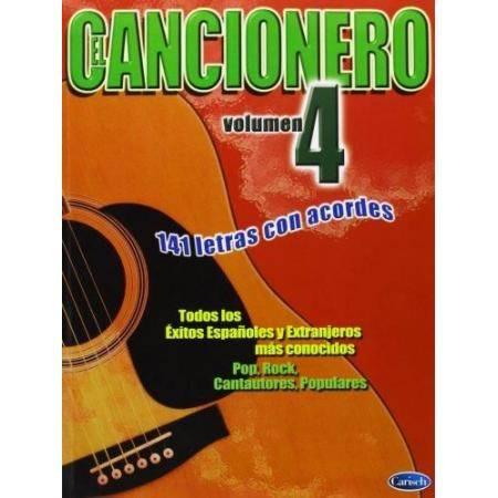 CANCIONERO VOL. 4, 140 LETRAS CON ACORDES.