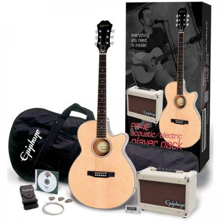 EPIPHONE PR-4E  PLAYER PACK EU NAT