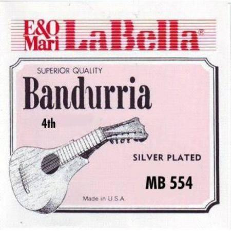 CUERDA LA BELLA MB-554  4ª SUELTA ENTORCHADA