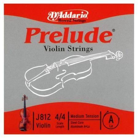 Cuerda Daddario Violin Prelude A J812 4/4 Med