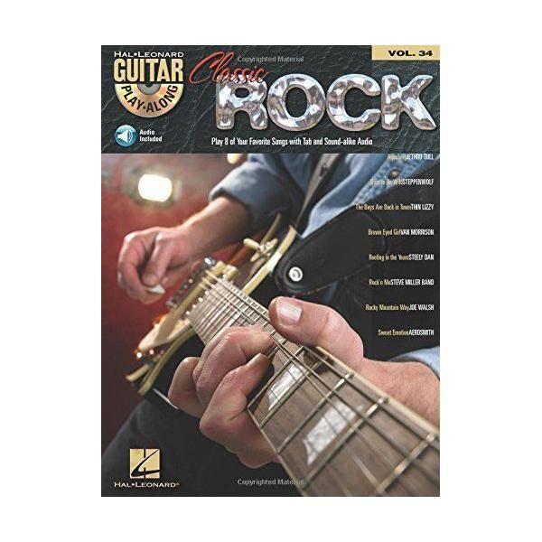 CLASSIC ROCK GUITAR PLAYALONG VOL34 TAB + CD VARIO