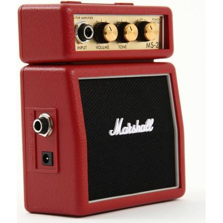 Marshall MS2 Rojo Mini Amplificador guitarra
