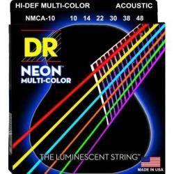 DR Cuerdas Guitarra Acústica MCA10 MULTICOLOR 1048