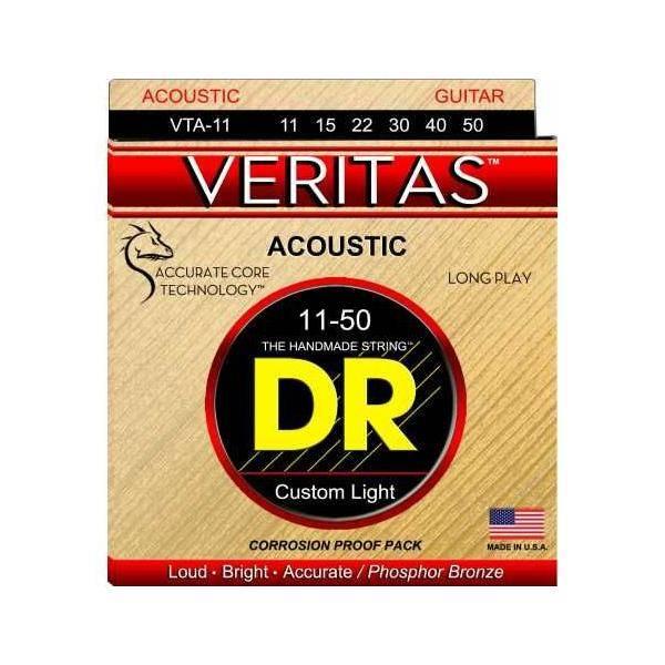 DR Cuerdas Guitarra Acústica Veritas VTA10 11-50