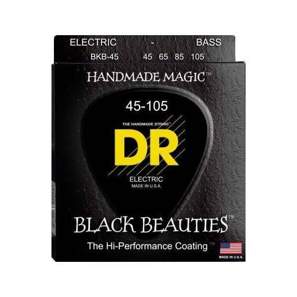 DR Cuerdas Bajo Black Beauties 45-105