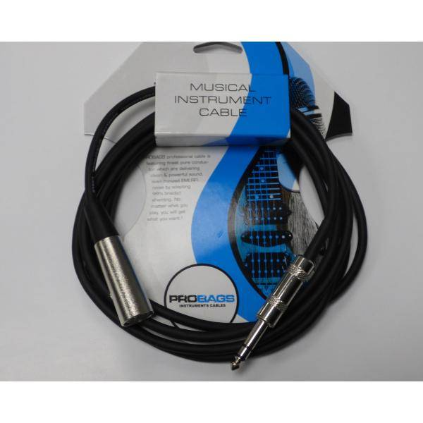 PROBAG CABLE AUDIO JACK STEREO XLR HEMBRA 2.7M