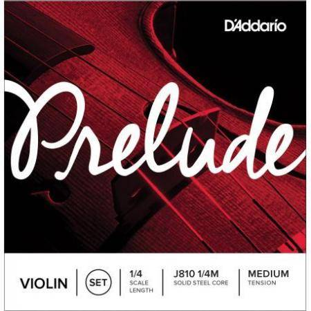 D'addario Juego Violin Prelude J810 1/4 Med