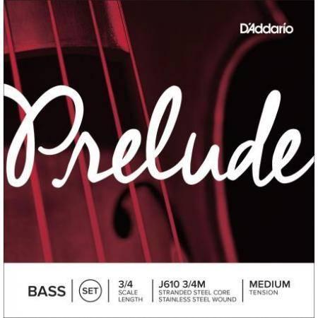 D'addario Cuerdas Contrabajo Prelude J610 3/4m