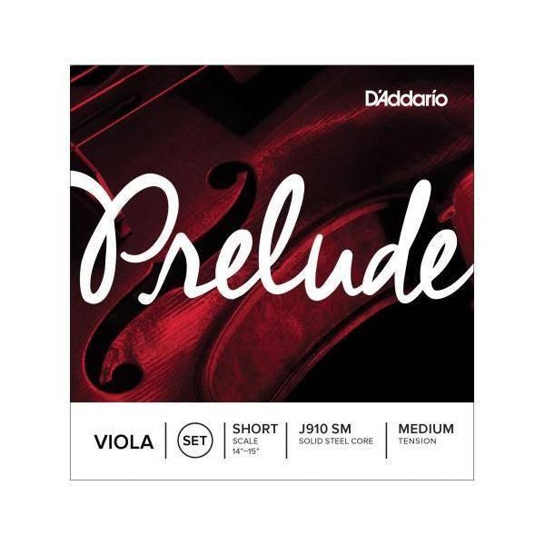 D'addario Cuerdas Viola Prelude J910SM Short Med