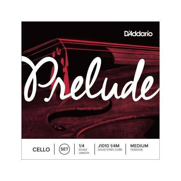 D'addario Cuerdas Cello Prelude J1010 1/4 Med