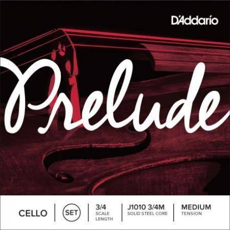 D'addario Cuerdas Cello Prelude J1010 3/4 Med