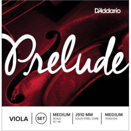 D'addario Cuerdas Viola Prelude J910MM Medium Med