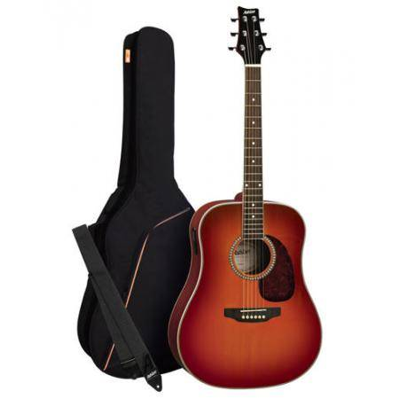 Pack Guitarra Acustica Dreadnought Sunburst Ashton MODELO ANTIGUO OFERTA