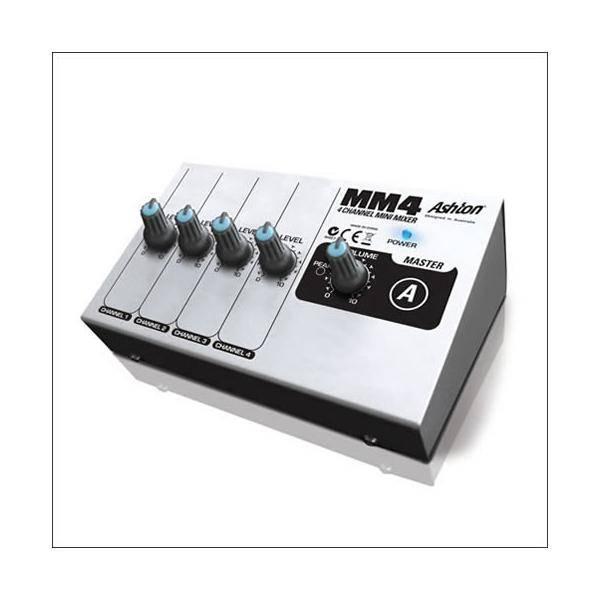 Mezclador Minimixer MM4 4 Canales Ashton
