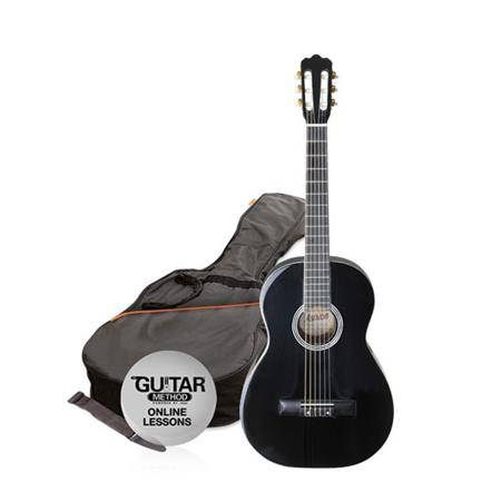 Pack Guitarra Clasica 1 2 Negra Oferta