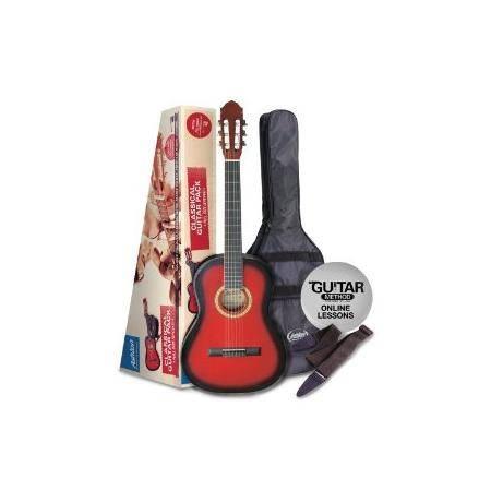 Pack Guitarra Clasica 1 2 Roja Oferta
