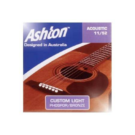 Juego De Cuerdas Acustica 11 52 Ashton