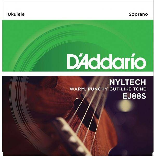 D'addario EJ88S Nyltech Juego Cuerdas Ukelele
