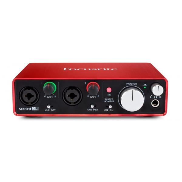 FOCUSRITE INTERFACE SCARLETT 2i2 2nd GEN