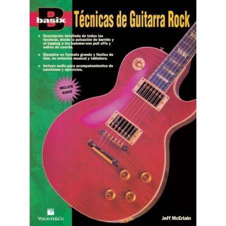 BASIX TÉCNICAS GUITARRA ROCK + CD JEFF MCERLAIN VO