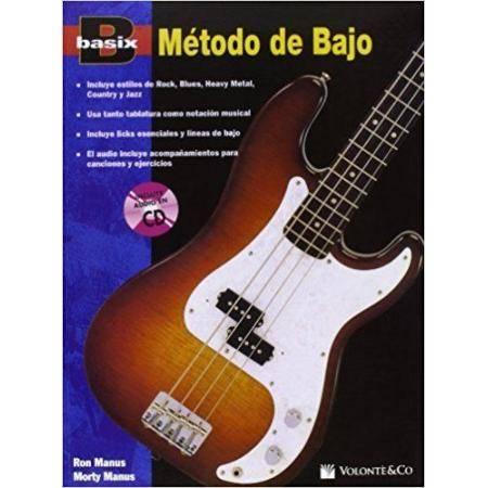 BASIX MÉTODO DE BAJO ELÉCTRICO + CD MANUS VOLONTE
