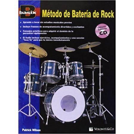 BASIX METODO DE BATERIA ROCK + CD WILSON