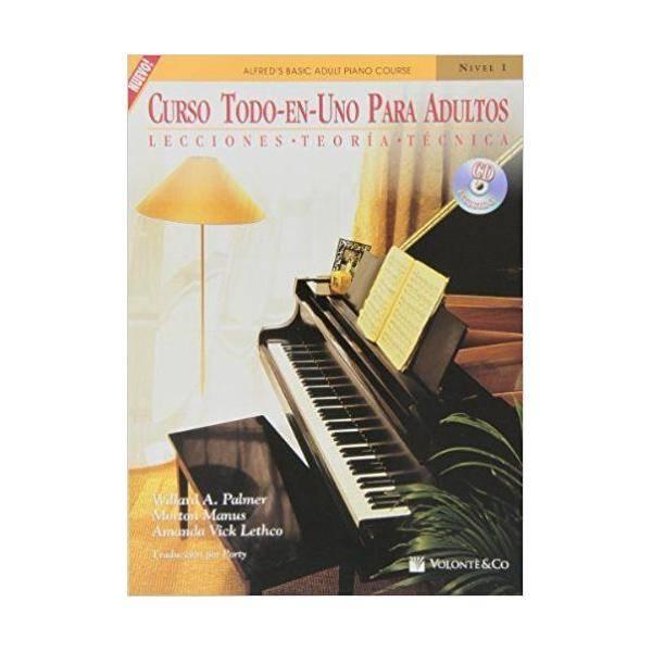 PALMER - CURSO TODO-EN-UNO PARA ADULTOS V.1 +CD