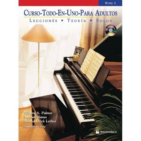 PALMER. - CURSO TODO EN UNO PARA ADULTOS Vº2 +CD