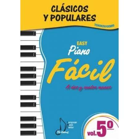 ALBUM - CLASICOS Y POPULARES** V.5 FACIL (TCHOKOV/