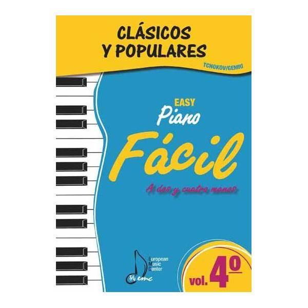 ALBUM - CLASICOS Y POPULARES** V.4 FACIL (TCHOKOV/
