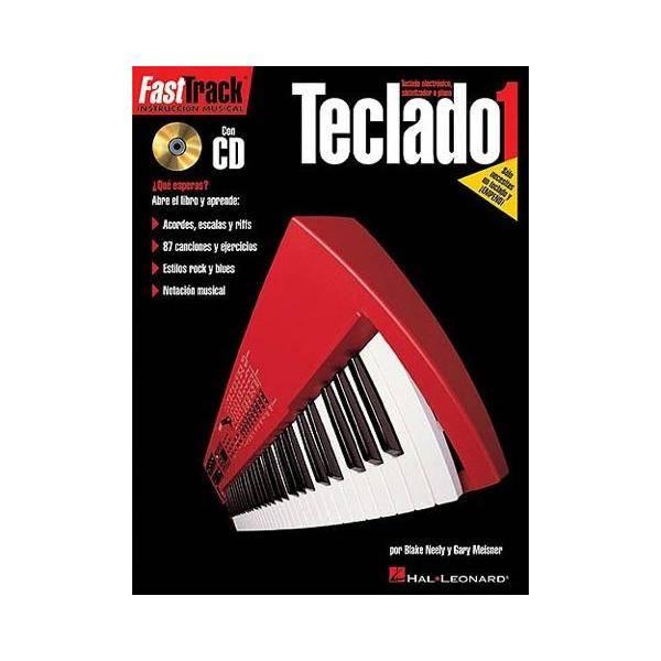 ALBUM - FAST TRACK TECLADOS V.1 (+CD) -