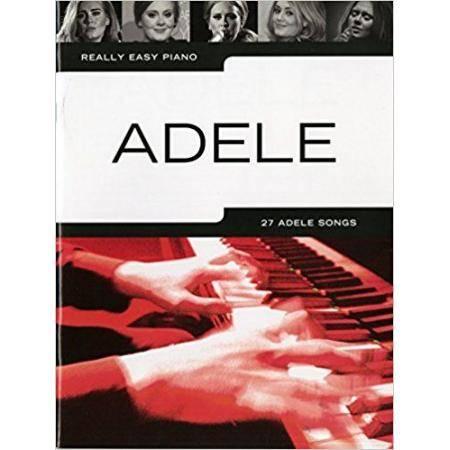 ADELE - REALLY EASY PIANO  (27 SONGS) NEW EDITIION