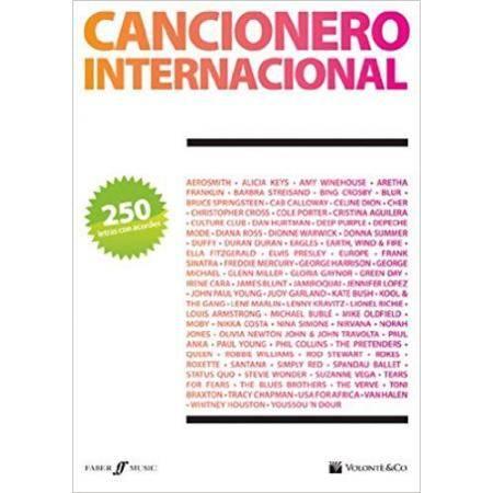 ALBUM - CANCIONERO INTERNACIONAL  250 LETRAS CON A