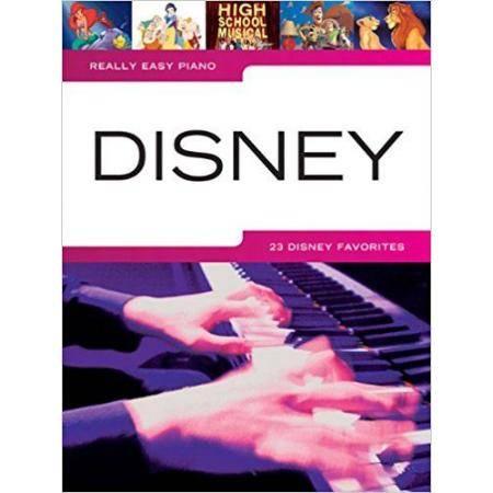 DISNEY W. - REALLY EASY PIANO