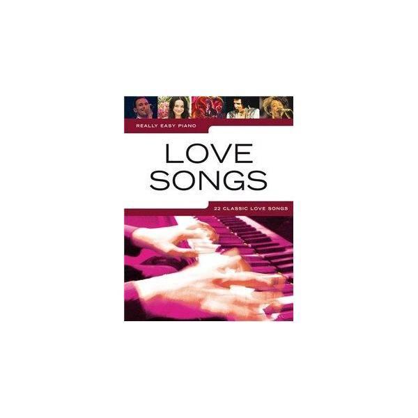 ALBUM - LOVE SONGS REALLY EASY PIANO