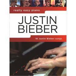 BIEBER J.  - REALLY EASY PIANO