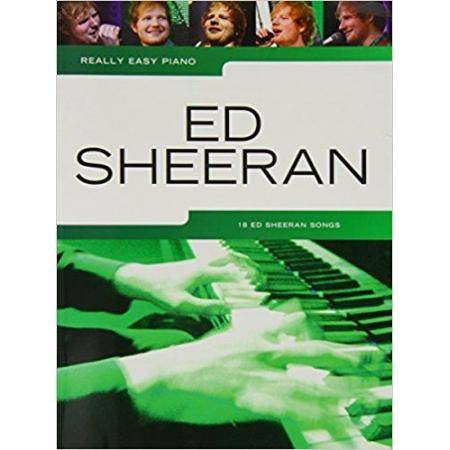 SHEERAN E. - REALLY EASY PIANO