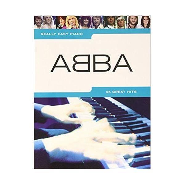 ABBA. - REALLY EASY PIANO