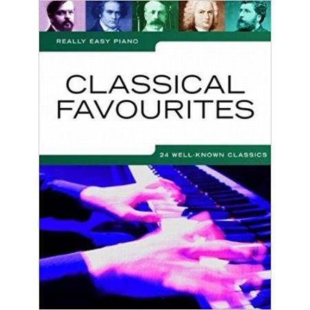ALBUM -  REALLY EASY PIANO CLASSICAL FAVORITES