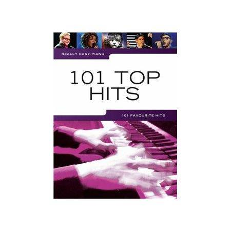 ALBUM - REALLY EASY PIANO 101 TOP HITS
