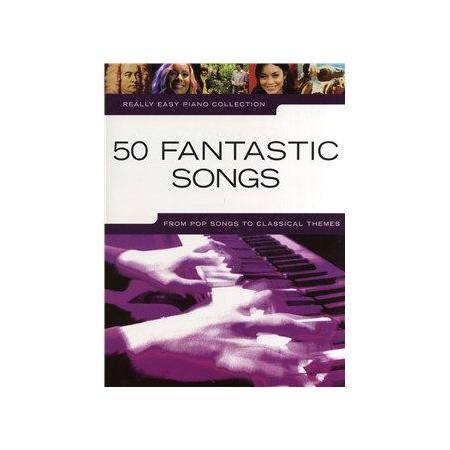 ALBUM - REALLY EASY PIANO FANTASTIC SONGS (50)