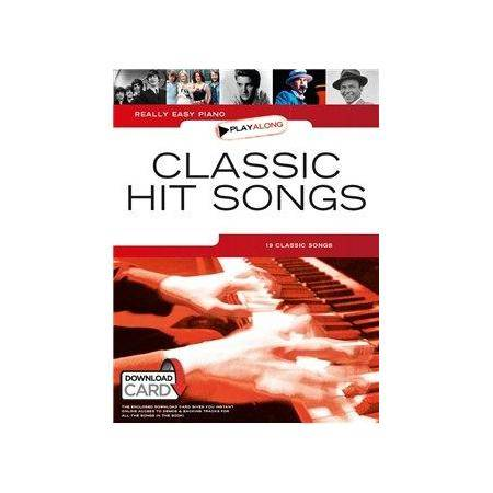 ALBUM - REALLY EASY PIANO PLAYALONG CLASSIC HITS S