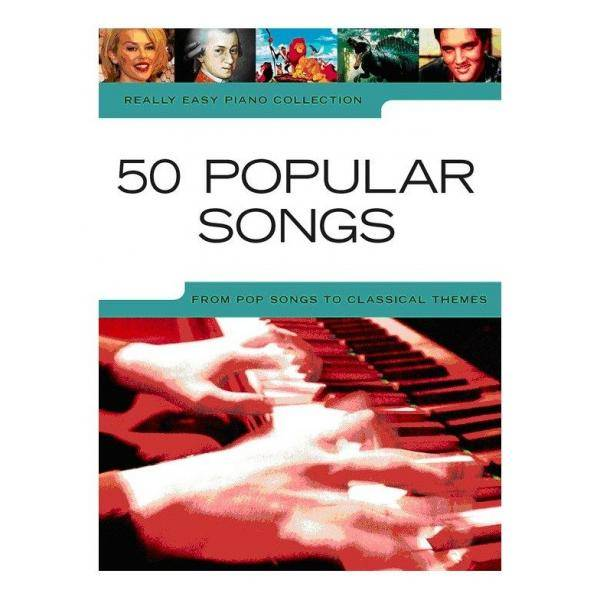 ALBUM - REALLY EASY PIANO POPULAR SONGS (50)
