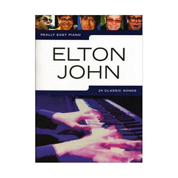 JOHN E. - REALLY EASY PIANO (24 CLASSIC SONG)