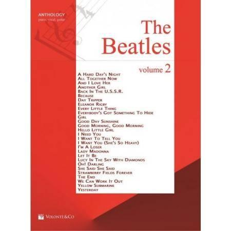THE BEATLES VOL 2 ANTOLOGIA PIANO
