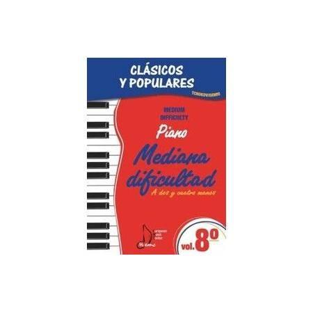 ALBUM - CLASICOS Y POPULARES** V.8 MED.DIFICULTAD