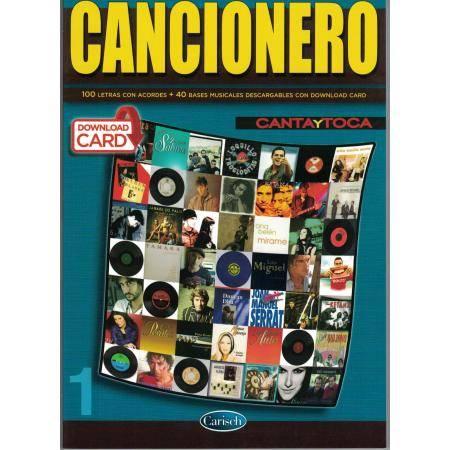 ALBUM - CANCIONERO CANTA Y TOCA +2 CD (LETRAS CON